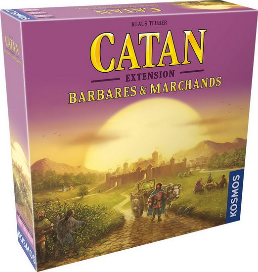 Catan barbare et marchands