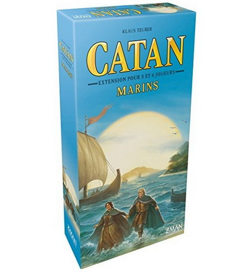 Catan extension marins 5 & 6 joueurs