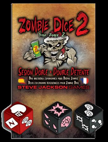 Zombie dice 2 double détente
