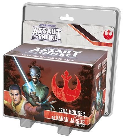 Star Wars assaut Empire Ezra Bridger et Kanan Jarrus