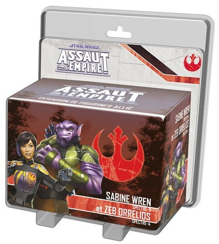 Star Wars assaut Empire Sabine Wren et Zeb Orellios