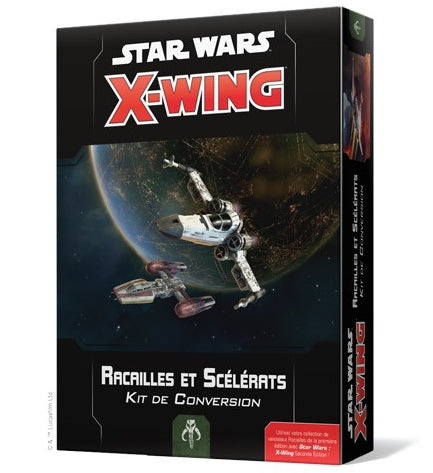 Star Wars X-Wing 2.0 kit de conversion racailles