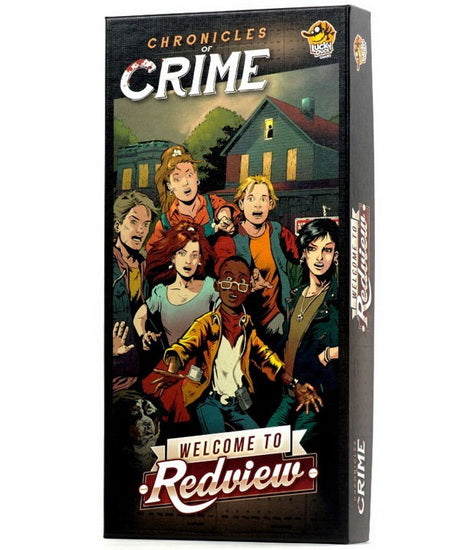 Chronicles of Crime Expansion Welcome to Redview VF