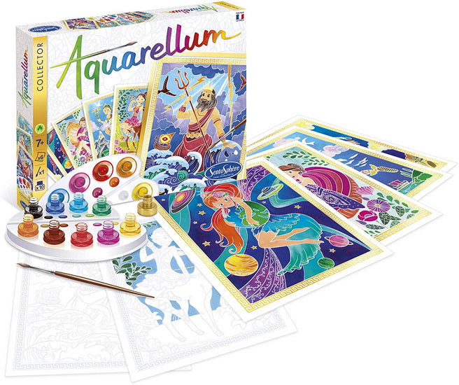 Aquarellum coffret collector Mythologie