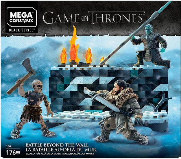 Mega construx Game of thrones : La bataille au-delà du mur
