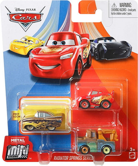 Bagnoles miniatures Cars pack 3 AS