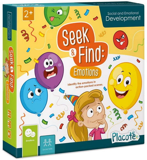 Seek & Find : Emotions version anglaise