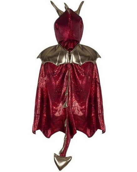 Cape du dragon rouge 5-6 ans