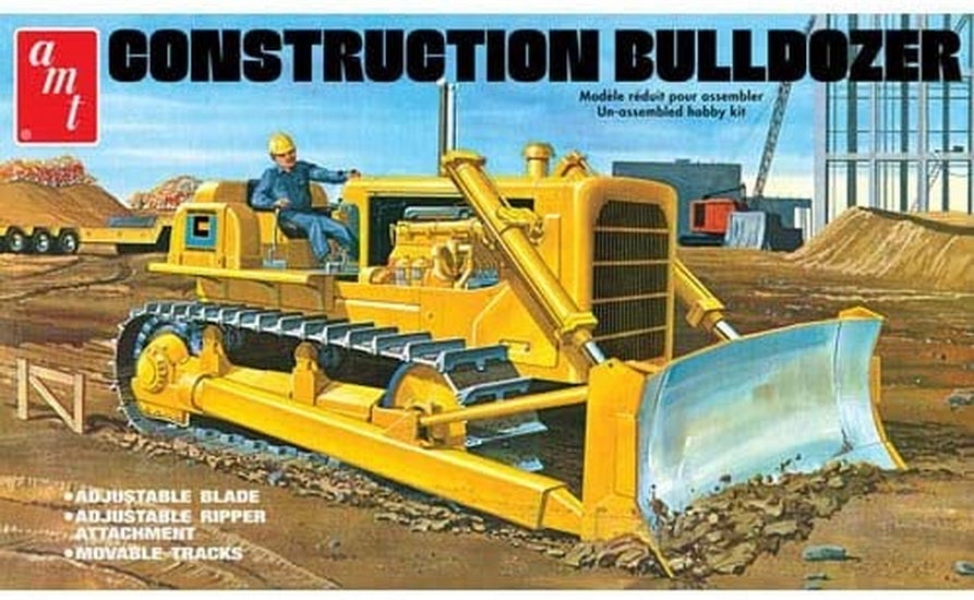 Bulldozer de construction  1/25
