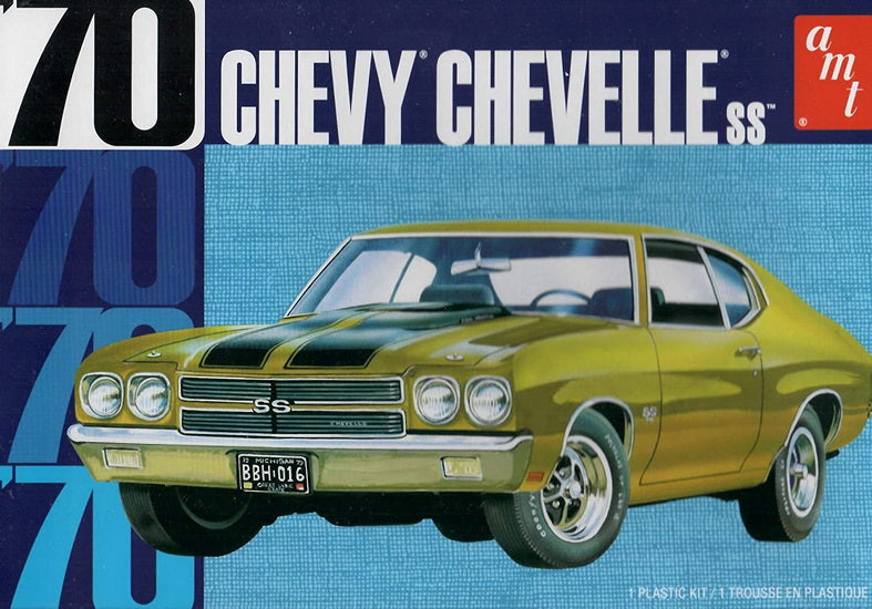 Chevy Chevelle SS 1970 1/25