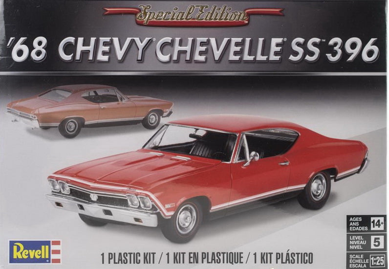 Chevelle SS396 1968 1/25