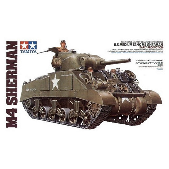 US Medium Tank M4 Sherman Early 1/35