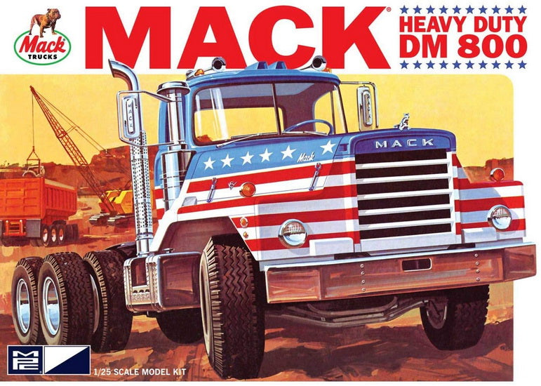 Mack DM800 semi remorque 1/25