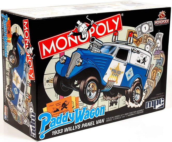 Willys panel paddy wagon Monopoly 1933  1/25