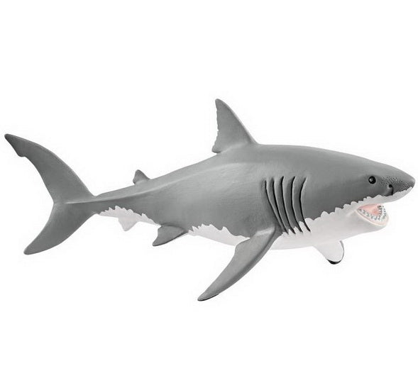 Figurine grand requin blanc
