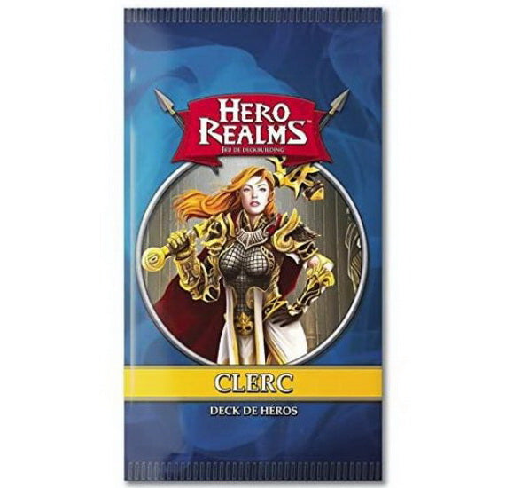 Hero realms deck de héros Clerc