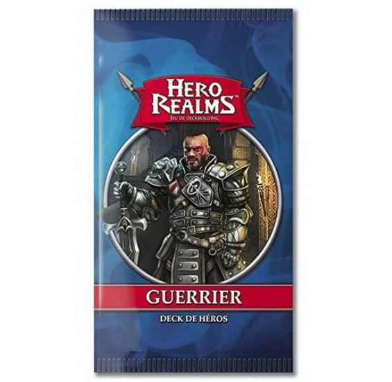 Hero realms deck de héros Guerrier