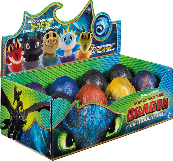 Peluche Dragons dans un oeuf 8 AS
