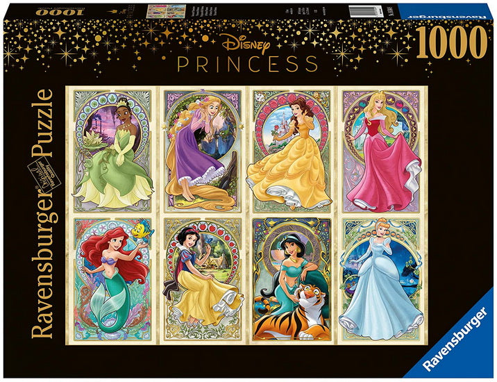 Disney Princesses Art nouveau 1000 mcx