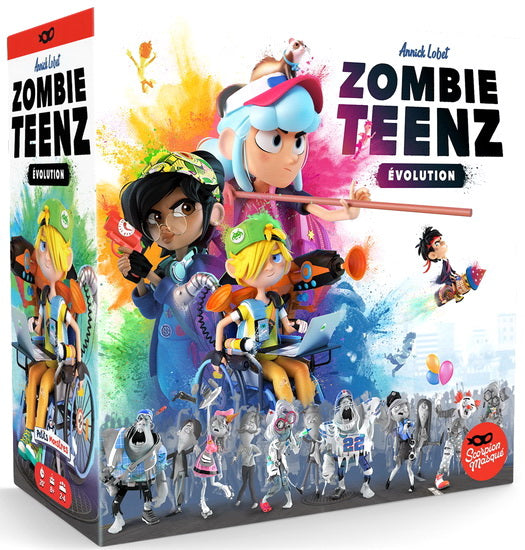 Zombie Teenz Evolution VF