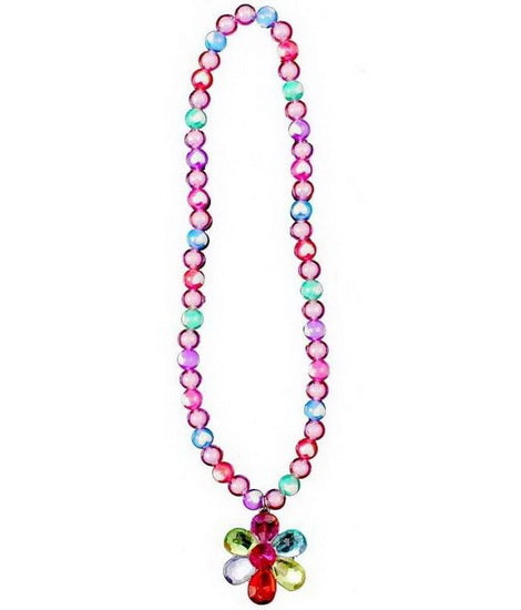 Collier Flower Gem Bead