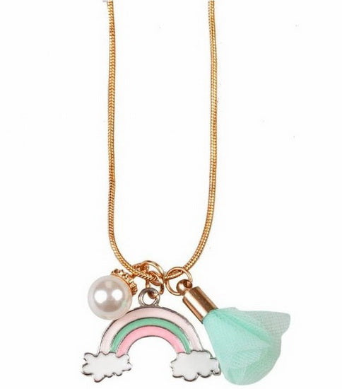 Collier Rainbow Tassel