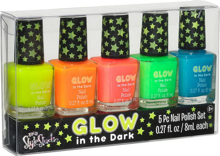 5 vernis à ongles phosphorescent
