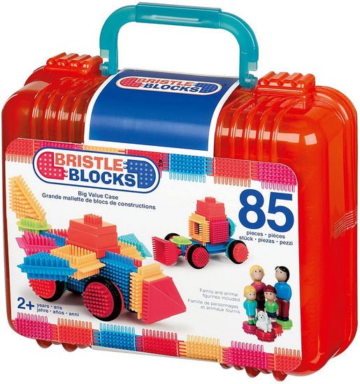 Bristle Blocks Mallette de 85 pièces