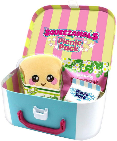 Squeezamals boite à lunch Picnic Pack
