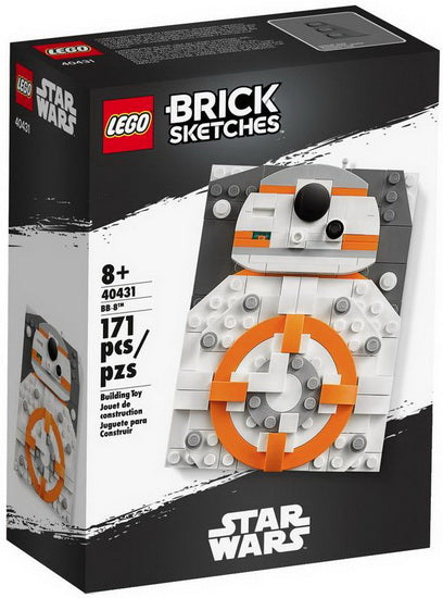 Brick sketches BB-8