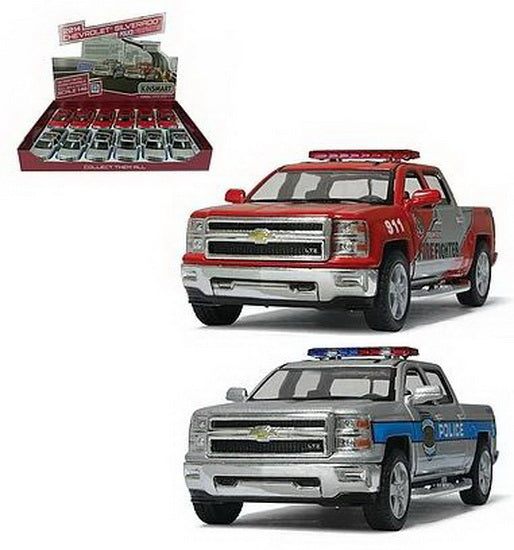 2014 Chevy Silverado police et pompier AS