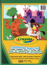 Bloc papier construction 120 fles