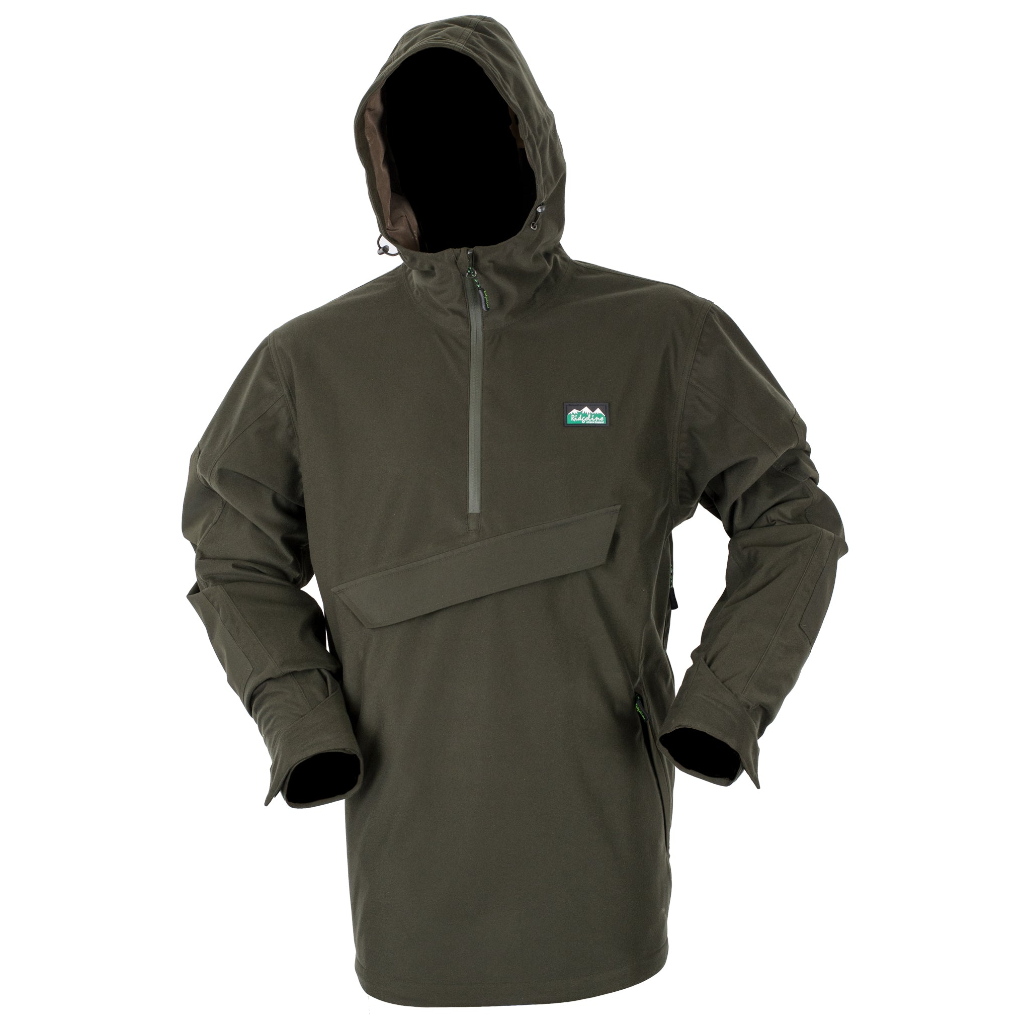 Ridgeline Evolution Smock Heather Marrone