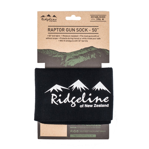 "Raptor Gun Sock 50"" Black"