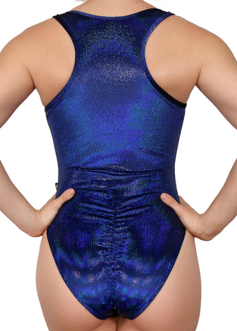 Asteria Velvet Cleotard with Scrunch Butt