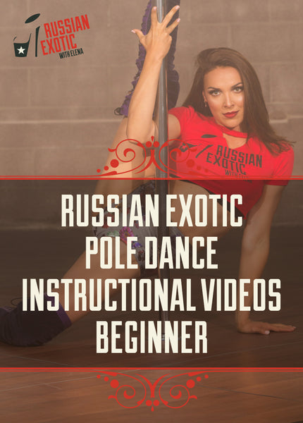 Russian Exotic Pole Dance with Elena I - Beginner (Digital Download)