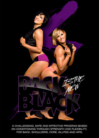 Back is the New Black | Rockin' Legs N Abs | Cleo's Rock N Pole DVD Combo