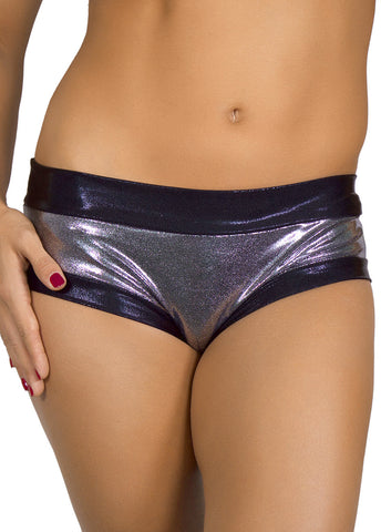 Black n' Chrome Hot Pants