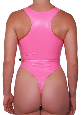 Bubblegum Liquid Cleotard Thong