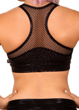 Fierce Cheetah Heart Breaker Sports Bra