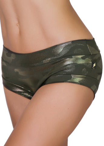 G.I. JADE Glamouflage Hot Pants