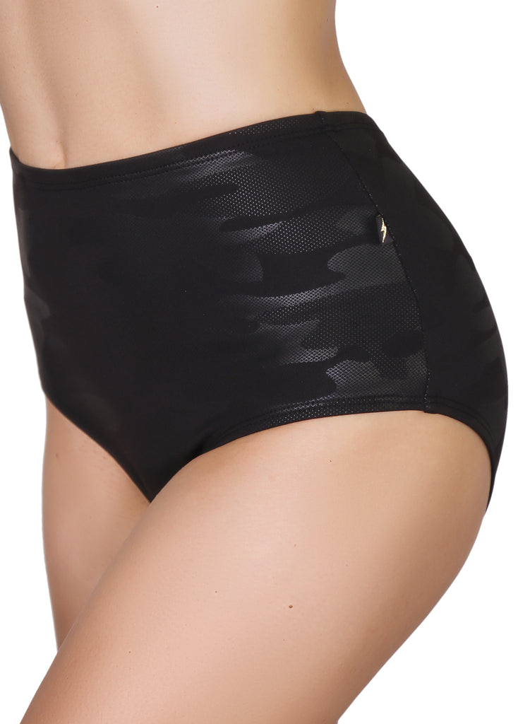 G.I. JADE Glamouflage High Waisted Hot Pants