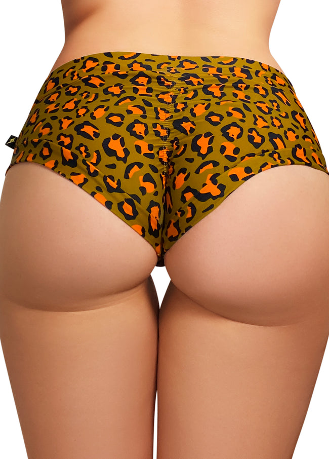 Power Print Hot Pants