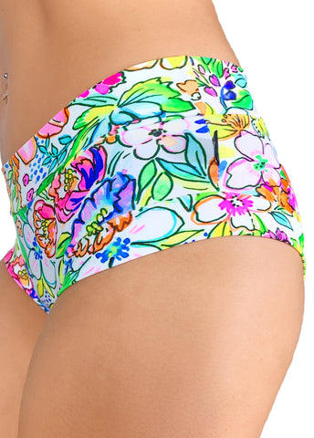 Power Print Hot Pants 5.0