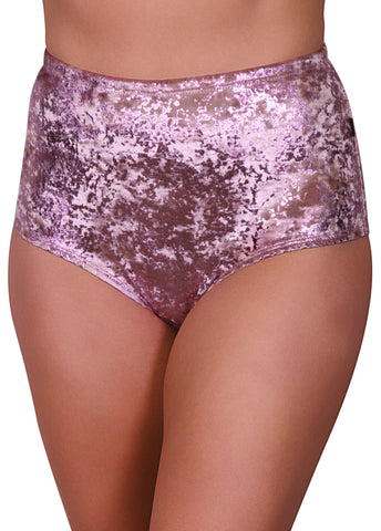 Viva La Velvet Velvet High Waisted Hot Pants