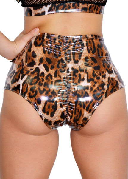 Wet Leppard High Waisted Hot Pants