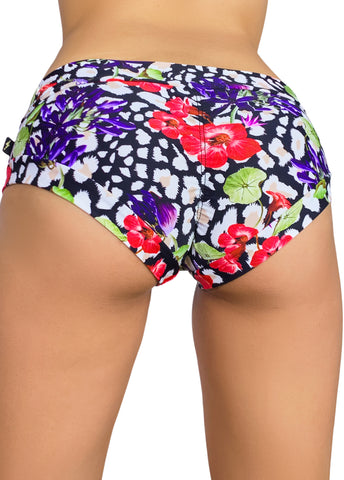 Power Print Hot Pants 2.0