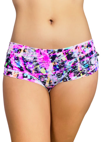 Power Print Hot Pants 4.0