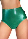 Metallic High Waisted Hot Pants - Various Colors