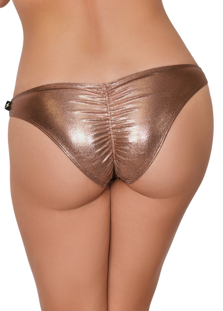 Metallic Scanty Pants - Various Colors